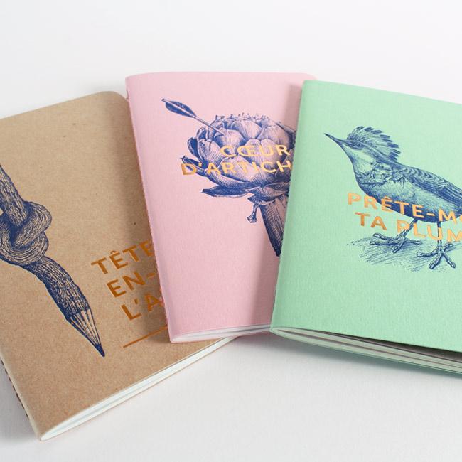 carnets letterpress