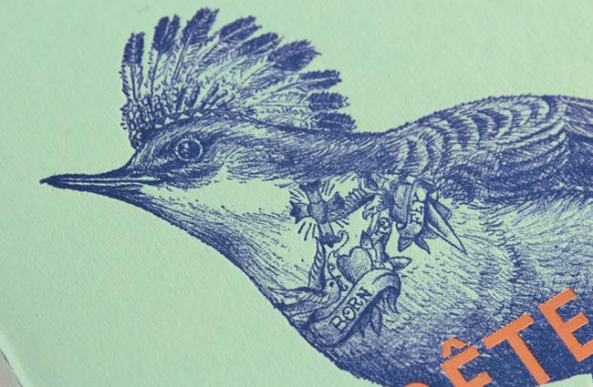 carnet letterpress
