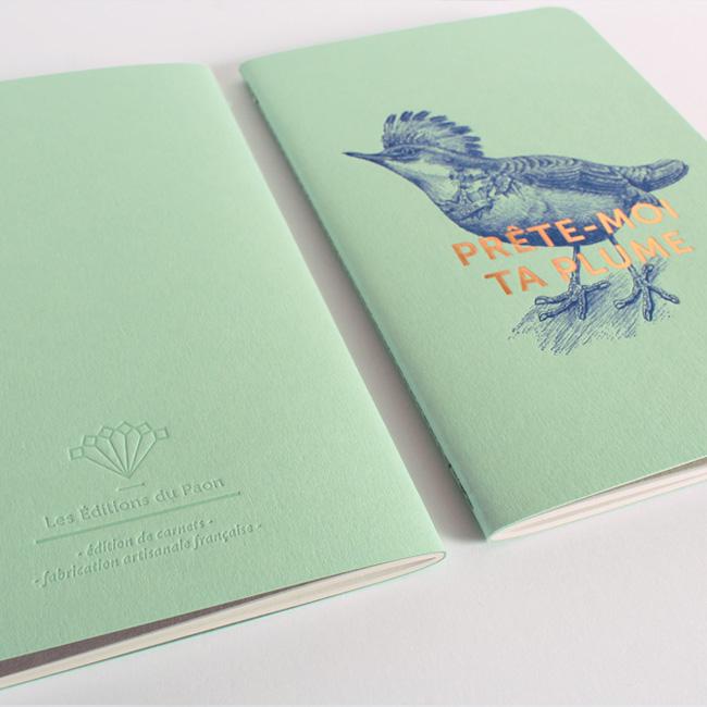 letterpress carnet